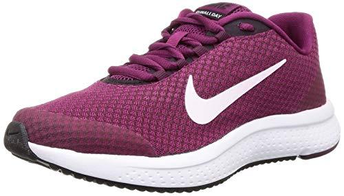 Nike Damen WMNS Runallday Leichtathletikschuhe, Mehrfarbig (True Berry/White/Burgundy Ash/Bordeaux 603), 38 EU