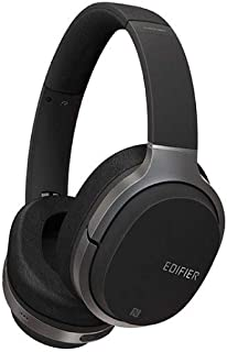 Edifier W830BT Bluetooth Over-Ear Wireless Headphone with Mic and Remote, Black
