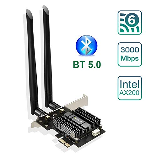 EDUP WiFi 6 Card AX 3000Mbps PCIe Network...