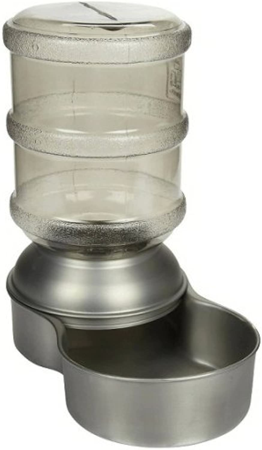 Petmate Stainless Steel Replendish Waterer Small 1 Gallon
