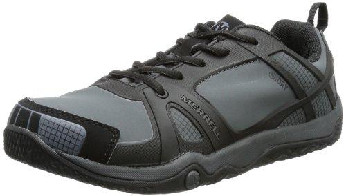 Merrell Proterra J95463 Chaussures de randonnée imperméables pour Enfants, Unisexe, Noir, Pointure 46