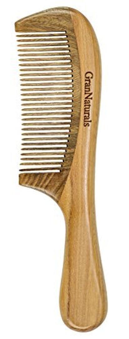 切る爆発物ジェームズダイソンGranNaturals Sandalwood Hair & Beard Comb for Men & Women [並行輸入品]