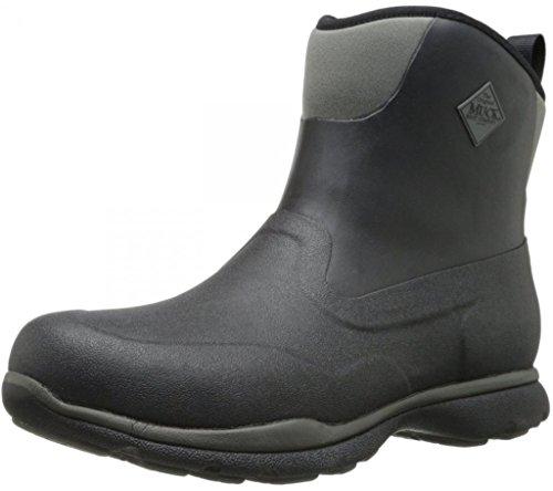 Muck Boot Men's Excursion Pro Mid Black/Gunmetal Outdoor Boot - 11 D(M) US