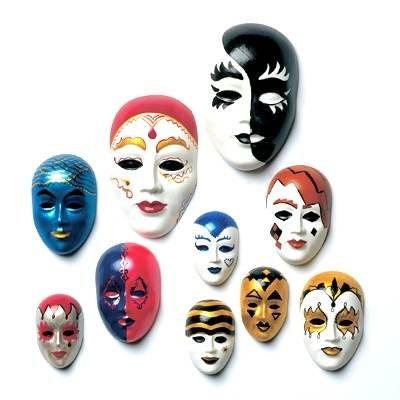 Gießform Hobby-Time 'Masken-Set' 10tlg.