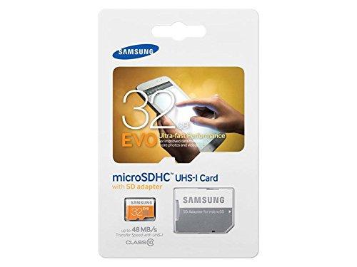 MicroSDHC 32GB Samsung CL10 EVO UHS I Adapter SD Retail