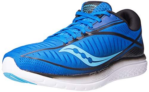 Saucony Men's S20467-2 Kinvara 10 Running Shoe, Blue | Black...