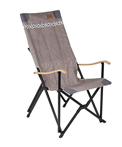 Bo-Camp Unisex's Camden Camp-stoel, Bruin, Eén maat