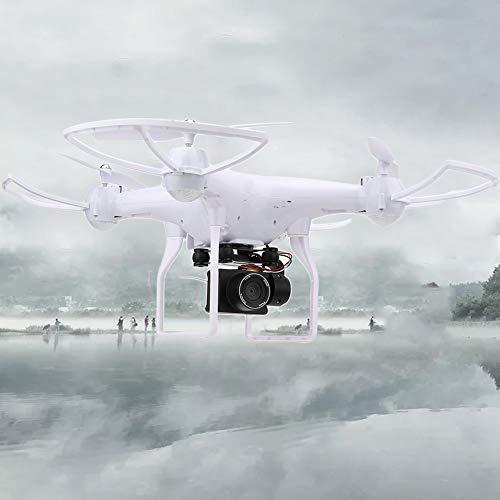 Drone con Cámara, F68 Control Remoto Drone 5MP HD Cámara 2000mAh Batería Un Botón Retorno Quadcopter ToyWhite