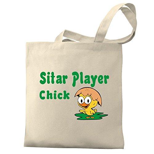 Eddany Sitar Player chick Bereich für Taschen