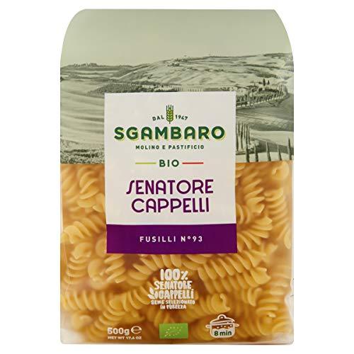 Pasta Sgambaro - Fusilli - Senatore Cappelli Bio - 500 gr