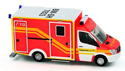 Rietze 61725 - was RTW Facelift Feuerwehr Hürth - 1:87