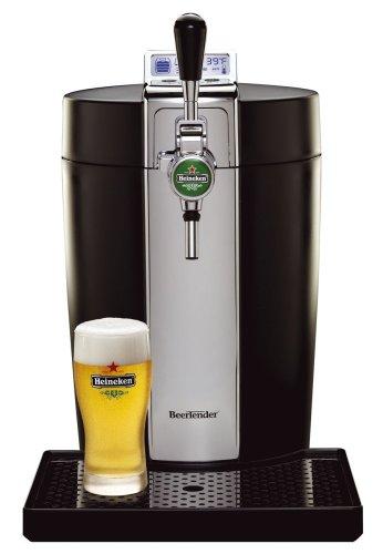Krups Beertender B95 Dispensador de cerveza de barril - Tirador de cerveza (300 x 490 x 450 mm, 70 W, 220V; 50Hz, LCD)