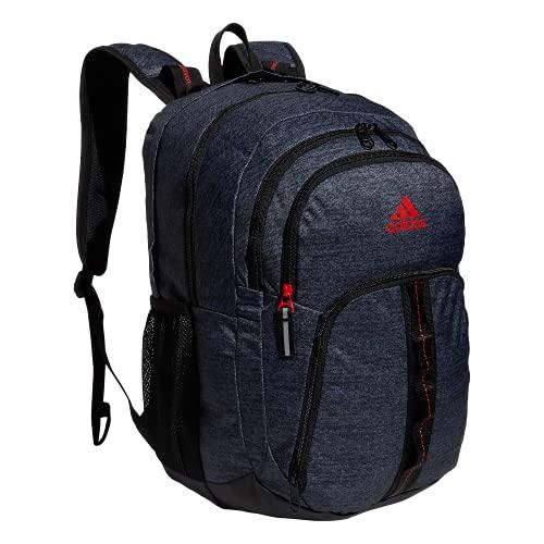 adidas Mochila Prime, Unisex, Mochila, 976541, Jersey Black/Active Red, Talla única