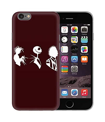 Tim Burton Movies Main Chaarcters Classics_BEN3029 Protective Phone Mobile Smartphone Case Funda Fundas Carcasa Cover Hard Plastic For iPhone 6 6S Plus Funny Regalo Christmas