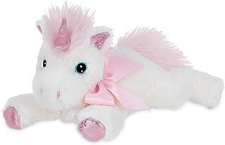 Bearington Baby Dreamer Plush Stuffed Animal Unicorn with Rattle, 8 inches