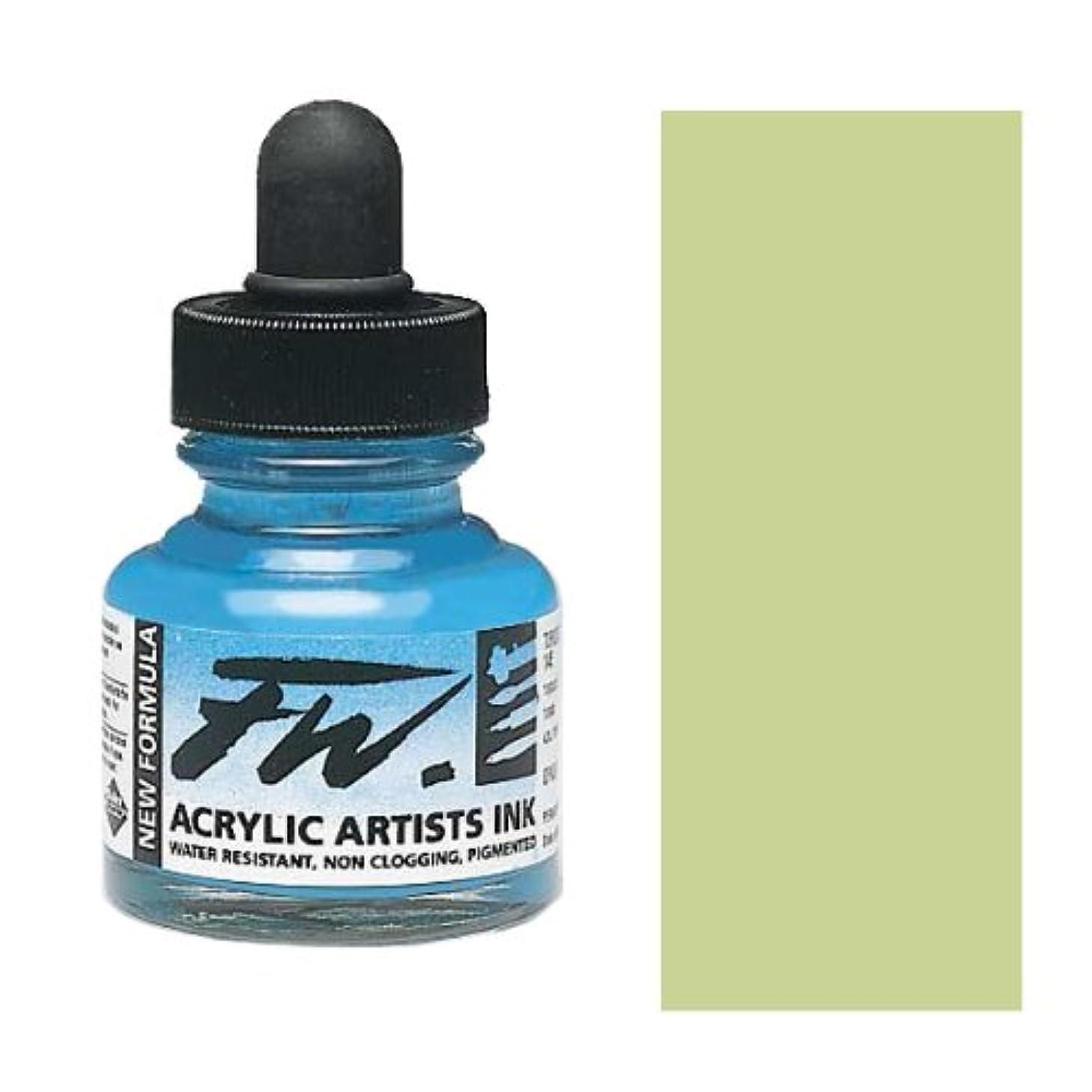 Daler-Rowney FW Artists' Ink shimmering green 1 oz.