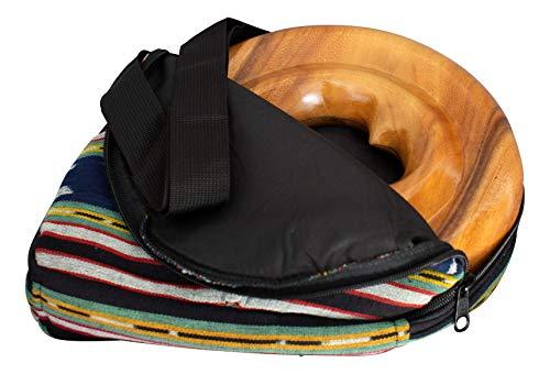 Australian Treasures - DIDGERIDOOTASCHE FÜR SPIRAL TRAVEL DIDGERIDOO - Nylon Didgeridoo Tasche für Holzspiraldidgeridoo. Verstellbarer Schultergurt