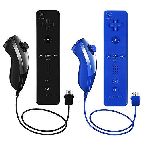 Lactivx Nunchuck y Wii Mando a distancia compatible con...