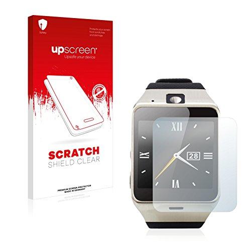 upscreen Schutzfolie kompatibel mit Tera Aplus – Kristallklar, Kratzschutz, Anti-Fingerprint