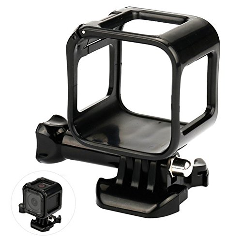 Carcasa protectora estándar para GoPro Hero 4 Session Deportes Manillar de Bicicleta Funda Accesorios (Negro)