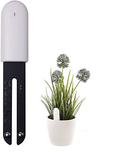 Hongtianyuan per VegTrug Flower Care Soil Tester, Intelligent Plant Monitor Bluetooth 4 in 1,Monitora automaticamente i Livelli di umidità/Luce/fertilità/Temperatura - per iOS e Android.