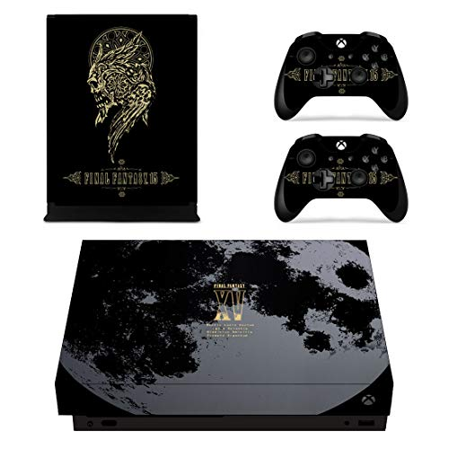 Adventure Games - XBOX ONE X - Final Fantasy XV 15, Limited Edition- Vinyl Console Skin Decal Sticker + 2 Controller Skins Set
