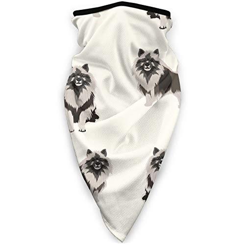 Nother Keeshond Razas de perros – Crema para el cuello polaina para la cabeza, unisex, multifuncional, máscara facial