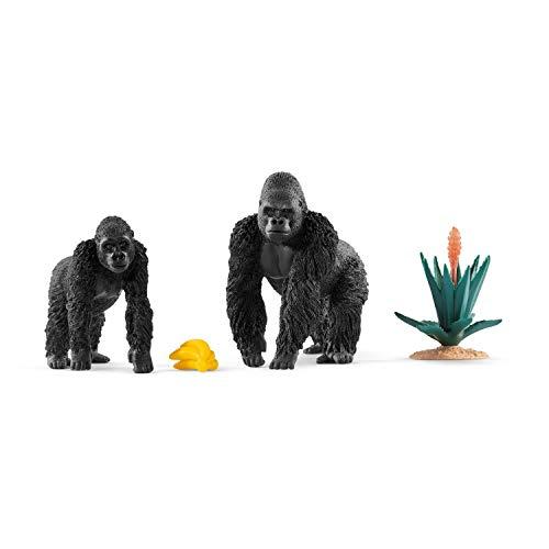 Schleich 42382 - Gorillas op zoek naar voer