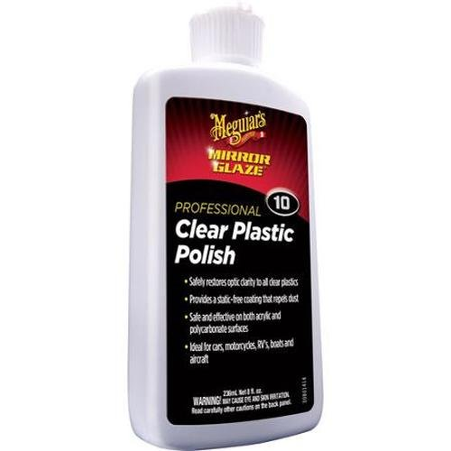 MEGUIAR'S 21507 Polish per Plastiche, Trasparenti
