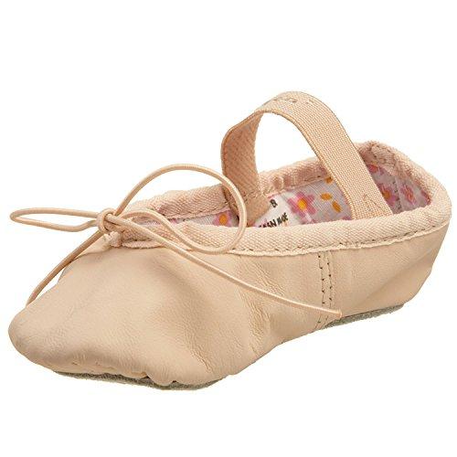 Capezio Ballettschuhe Ballettschläppchen aus Leder für Kinder (Ballet Pink, 3.5 M ( EU 35))