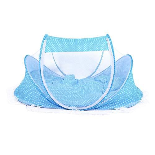 SMELOV ® Berceau de voyage pliable pour bébé avec moustiquaire, sans installation, pour bébés de 0 à 3 ans
