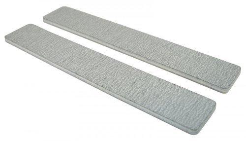 Standard Zebra 80/80 (Wht Ctr) 1-1/8 Jumbo Nail File by Nail File Guru