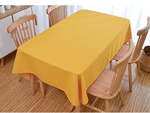 La Mode Schlichte Stil Tischdecke rechteckig Polyester Tischdecke abwaschbar für Konferenztisch Couchtisch Esstisch Mehrzweck Indoor und Outdoor,...