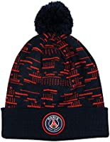 PARIS SAINT GERMAIN Bonnet Pompon Enfant PSG - Collection Officielle