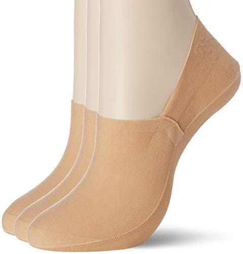 [グンゼ] フットカバー 靴下 トゥシェ Tuche 丈夫で脱げない 超深履き 綿混 3足組 TQK504 レディース
