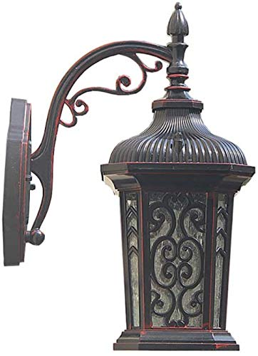 Chinese klassieke Villa Binnenplaats Outdoor Garden Ingang Retro Nostalgische groot terras wandlamp
