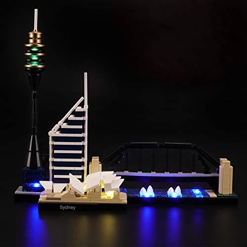 LIGHTAILING Licht-Set Für (Architecture Sydney) Modell - LED Licht-Set Kompatibel Mit Lego 21032(Modell Nicht Enthalten)