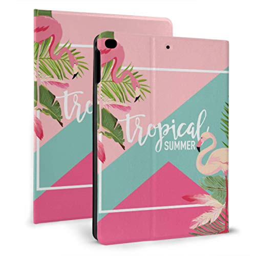 Kid Friendly Ipad Case Flamingo Pink Fashion Accesories Ipad Case For Women For Ipad Mini 4/mini 5/2018 6th/2017 5th/air/air 2 With Auto Wake/sleep Magnetic Protective Case For Ipad
