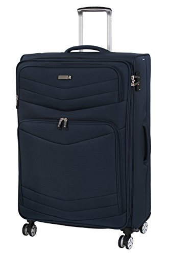 it luggage Intrepid 8 Wheel Lightweight Semi Expander Suitcase Large with TSA...