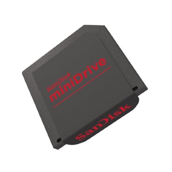 SanDisk Ultra miniDrive - Tarjeta de Memoria MiniSD de 64 GB (hasta 30 MB/s de Lectura)