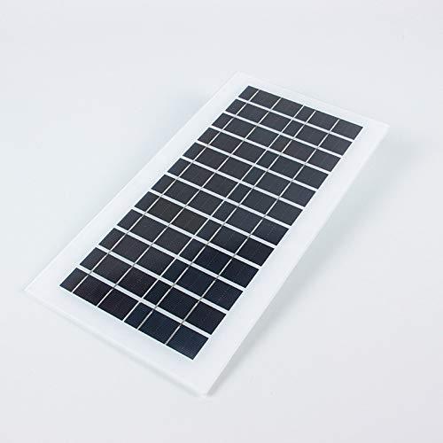 YYANG Zwei-Kopf-Solarpanel Multifunktions-Batterieplatine Straßenlaterne Solarpanel Schnellladung