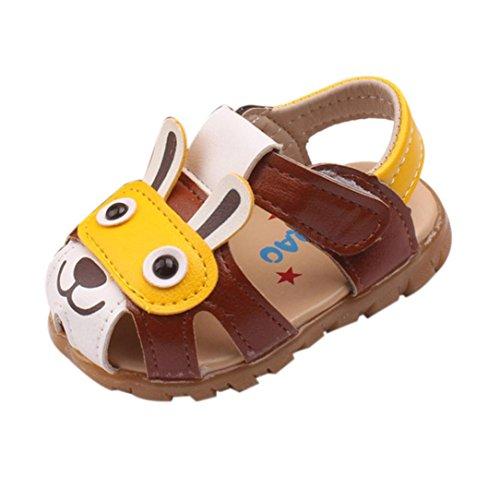 OYSOHE Cartoon Schuhe Kleinkind Kinder Baby Jungen Sommer Schuhe mit Blinkenden Lichter Sandalen