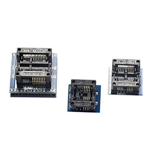 Signstek SP8-A Programmers 40 Pins Socket with ESD Protection and Contact Detection ISP Support