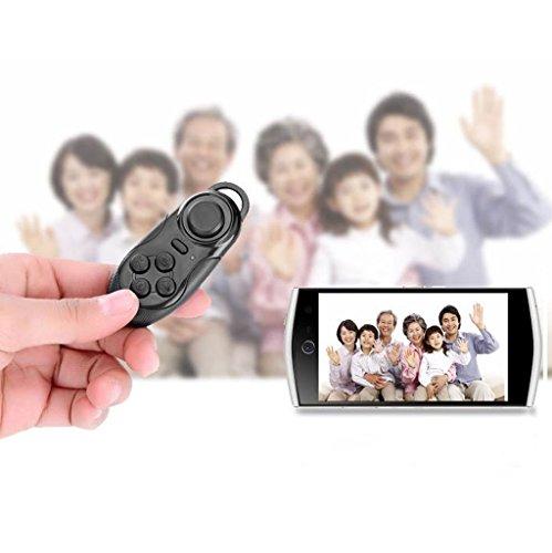 B Blesiya 2 Piezas Mando a Distancia Gamepad Control Bluetooth Video VR, Película, Juego, Selfie, E-Book/PPT/Nook Page, Mouse, en Auriculares de Realid