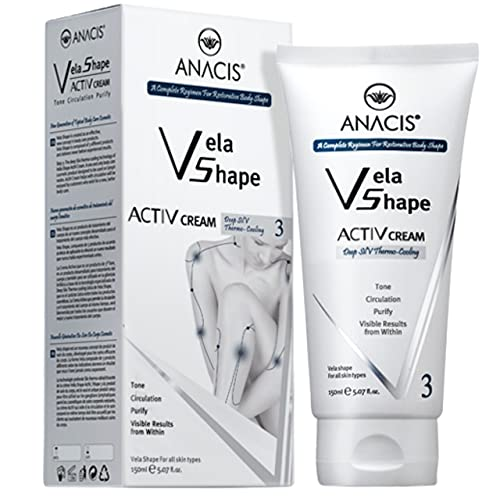 Cellulite Control Cream Active Body Contour Firming Tightening Toning. Anacis 5.07Oz