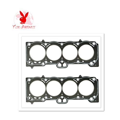 yise-P631 New 2pcs 7A-FE 7AFE For TOYOTA CARINA 16V DOHC Engine Parts Cylinder Head Gasket Engine Gasket 11115-16121 10088600