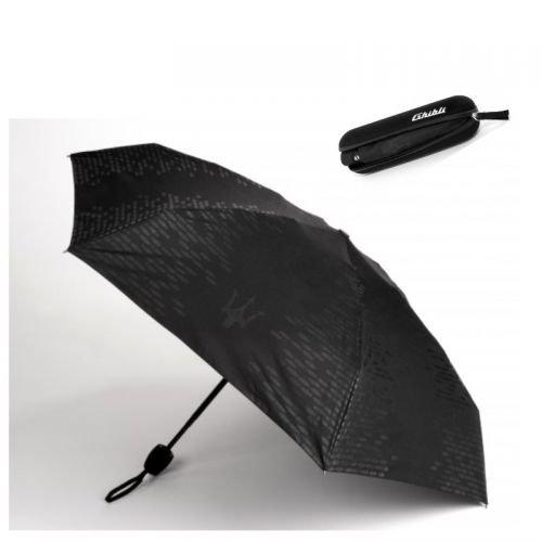 Maserati Regenschirm Ghibli Logo schwarz Umbrella