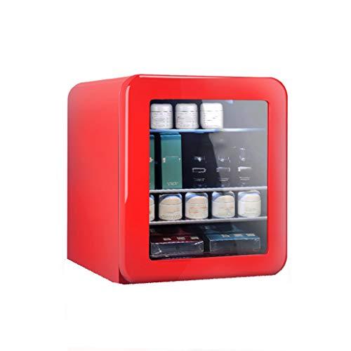 Articles for daily use Mini refrigerador Cosmético, Refrigerador Retro de Belleza, Mini Máscara Facial Refrigeración de una Sola Puerta, Hogar Portátil