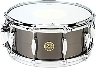 Gretsch Drums USA Black Nickel Over Brass Snare Drum - 6 Inches X 14 Inches