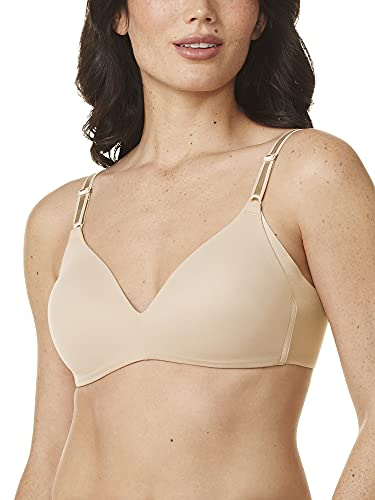 Warner's Women's Blissful Benefits NO Side Effects Smoothing Wirefree Bra,...